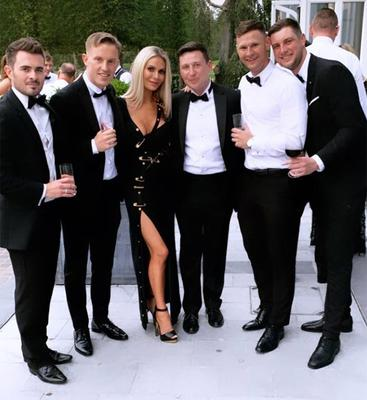 Dorit Kemsley and guests at Ronan Palmer's wedding in Adare Manor. Picture: Instagram