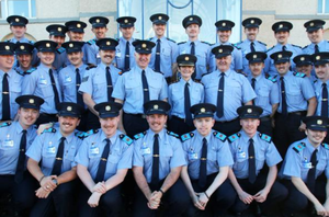 A brigade of ronnies at the garda training college.