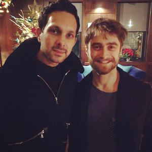 Dynamo and Harry Potter star Daniel Radcliffe. Facebook