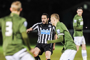 Jonas Gutierrez in action last night