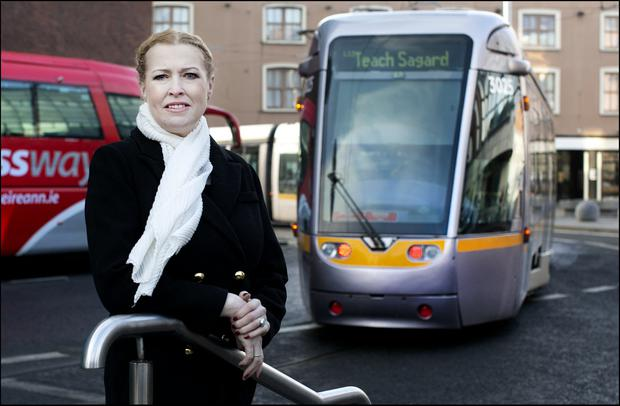 Long distance: Audrey Kane, who has a hellish commute to work from Athy. Photo: David Conachy