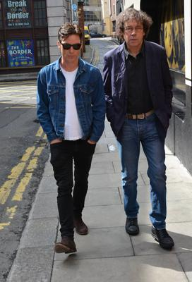 Actors Cillian Murphy and Stephen Rea at Today FM's Ray Darcy Show promoting their Olympia Theatre play 'Ballyturk' which runs August 7th - 23rd