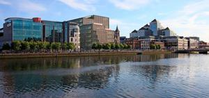 Irish Life has invested heavily in the Dublin Docklands projects