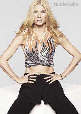 Gwyneth Paltrow in the new issue of Marie Claire. Picture: Jan Welters/Marie Claire