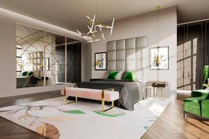 Plush pad: A house decorated by Jo Hamilton in London's Mayfair
