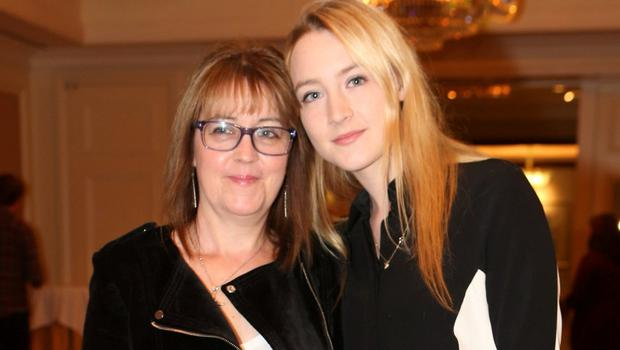 Saoirse with her mother Monica in Dublin in 2013. Photo: Leon Farrell/Photocall Ireland