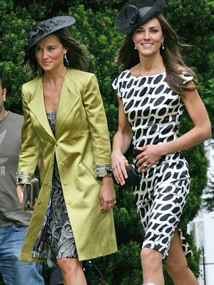 Sisters Kate and Pippa Middleton in 2011