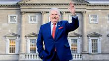 Say goodbye: Senator Terry Leyden will quit the Seanad after nearly 50 years in the corridors of power. Photo: Frank McGrath