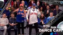 Taylor Swift and Jimmy Fallon get their sports cam fan groove on