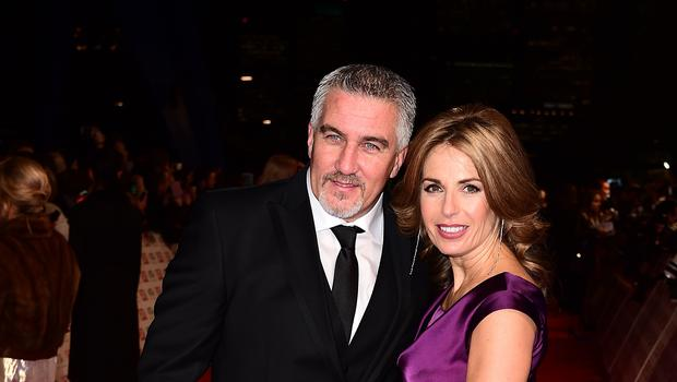 Paul Hollywood and then wife Alex in 2015 (Ian West/PA)