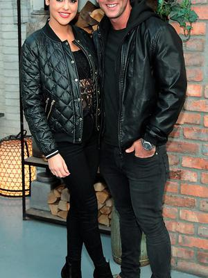 """Suzanne Jackson and Dylan O Connor  pictured at the launch of Rosanna Davisons's book """" Eat Yourself Beautiful"""" at House Dublin in  Leeson Street, Dublin"""