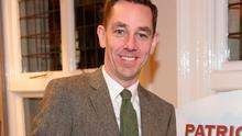 "Ryan Tubridy at the launch of his book ""Patrick and the President"" Illustratred by PJ Lynch  at Dubray Books in Grafton Street, Dublin. Pictures Brian McEvoy Photography"