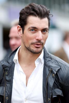 David Gandy attends the RHS Chelsea Flower Show, London.