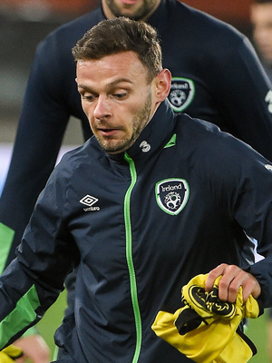 Andy Boyle was on target for Preston debut. Photo: David Maher/Sportsfile