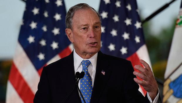Target: Michael Bloomberg has come under attack. Photo: Getty Images