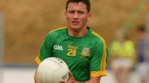 Darren Connell in action for Meath