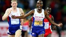 Row: Mo Farah has become engaged in a war of words with his Team GB teammate Andy Vernon Photo: GETTY