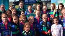 Seapoint Rugby Club boasts a growing girls section.
