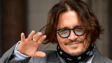 Out of pocket: Johnny Depp, who had earnt $650m with two sequels of 'Pirates of the Carribbean', in London yesterday. Photo: REUTERS/Toby Melville