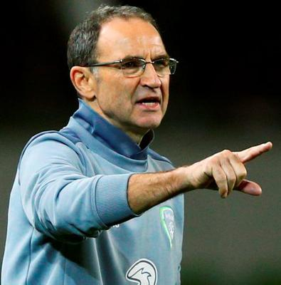 Martin O'Neill said that he would accept a third place finish because of the difficulty of Ireland's remaining fixtures