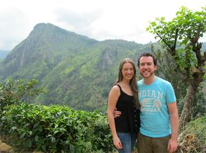 Aoife McGough and her husband Kevin O'Brien in Sri Lanka in one of the photos that was missing.