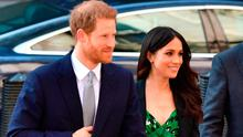 Prince Harry and Meghan Markle arrive at the Australian High Commission in London to attend a reception celebrating the forthcoming Invictus Games Sydney 2018