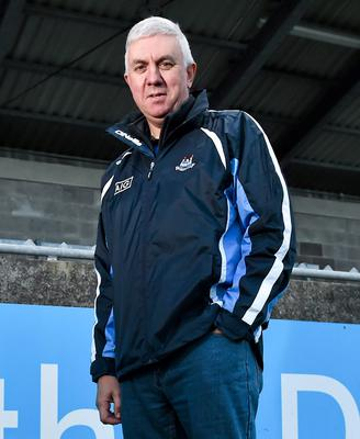 The new Dublin hurling manager Ger Cunningham