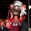 Ray Silke lifted the Sam Maguire and Andy Merrigan trophies in the same year as Corofin and Galway took the top honours in 1998. Photo: SPORTSFILE