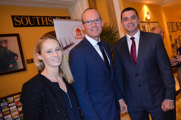 Derval O'Rourke, Minister Coveney and Alan Quinlan