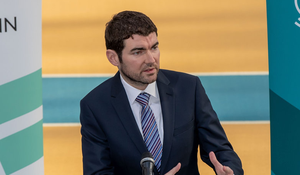 Minister Brendan Griffin asked for the Government position. Picture: ©INPHO/Morgan Treacy