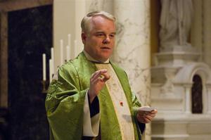 Hoffman played Father Flynn in the movie adaptation of Doubt