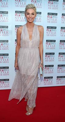 Pippa O Connor on the Red Carpet at The Peter Mark VIP Style Awards 2015 at The Marker Hotel,Dublin. Pictures Brian McEvoy