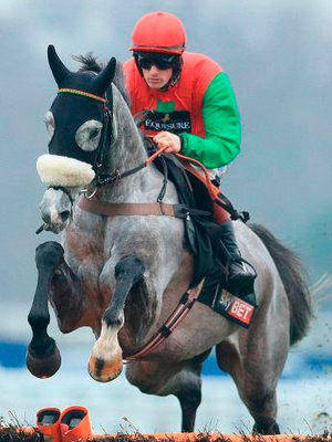Capitaine goes in the 3.25 at Kelso. Photo: Adam Davy/PA