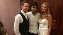 Robert Pattinson crashed an Irish wedding in Co Down, with bride and groom Sarah and Tom Lenihan