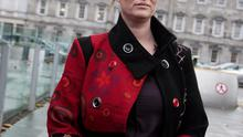 Mairia Cahill arriving at Leinster House earlier this week. Photo: Tom Burke