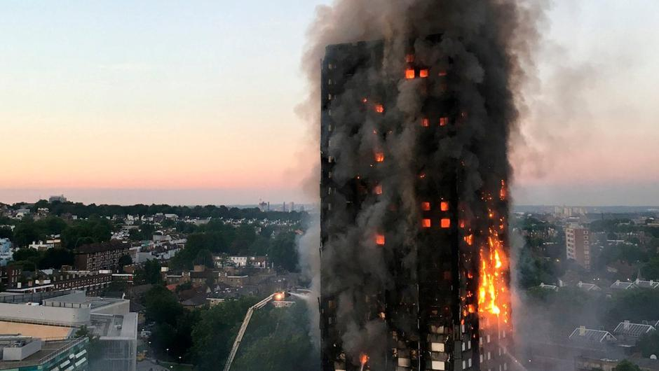 The disastrous Grenfell fire tragedy in London killed 72 people