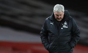 Steve Bruce is convinced he is the man to turn Newcastle's fortunes around (Adam Davy/PA)