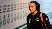 Republic of Ireland's Harriet Scott. Photo: Stephen McCarthy/Sportsfile