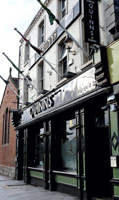Quinn's of Drumcondra. It's owners and operators, Quinns Hospitality Ireland Limited, was convicted and fined €1,750, after they pleaded guilty to breaches of hygiene laws in a prosecution brought by the HSE. PIC: COURTPIX