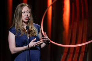 Chelsea Clinton speaks during the Clinton Global Citizens awards ceremony for the Clinton Global Initiative 2014 (CGI) in New York. Reuters/Shannon Stapleton