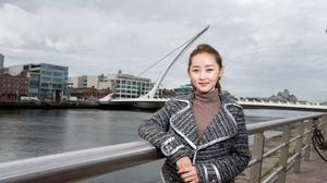 Yeonmi Park (21) at the One Young World summit