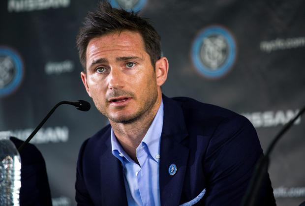 Frank Lampard will join Manchester City on loan before he plays his first game for New York City FC in the MLS. Photo: AP Photo/Craig Ruttle