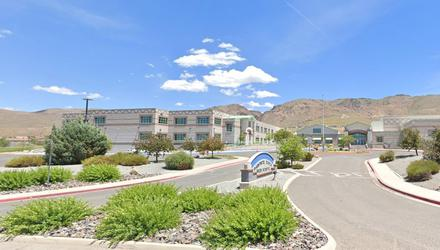 School: Damonte Ranch High in Reno where Adam (17) and Michael Huber (16) were students