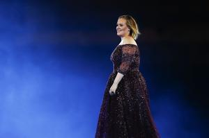 Adele performs at ANZ Stadium on March 10, 2017 in Sydney, Australia.  (Photo by Cameron Spencer/Getty Images)