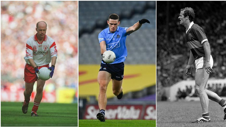 Peter Canavan, Brian Fenton and Jack O'Shea all feature in our Supreme Football All-Stars. Image credit: Sportsfile.