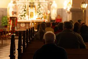 Social network: Church-goers have better mental health. Stock picture