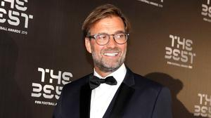 Liverpool manager Jurgen Klopp arrives at the Best FIFA soccer awards, in Milan's La Scala theater, northern Italy. AP Photo/Luca Bruno