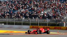 Thousands of fans at the Russian Formula One Grand Prix, the largest sporting spectator gathering of the Covid-19 era