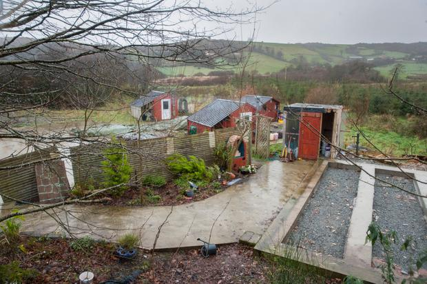 Another view of the compound of the hermitage near Leap, Co Cork, which has now been placed on the market. Photo: Daragh Mc Sweeney/Provision
