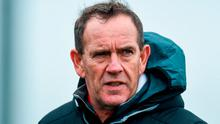 Derry manager Kenny Shiels. Photo: David Maher/Sportsfile